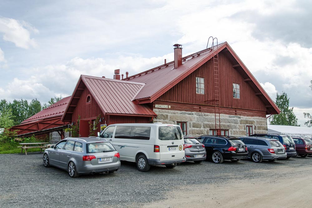 Meetings can be arranged in a stone barn